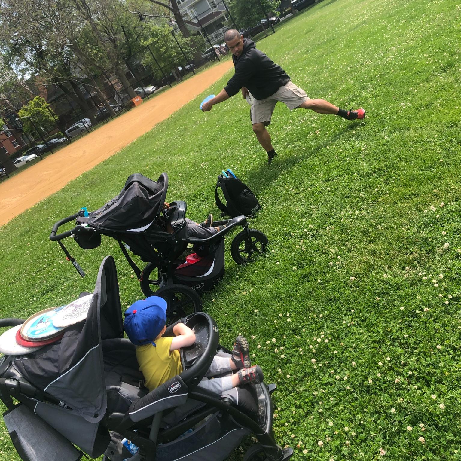 Hyde Park Disc Golf at Kenwood Park